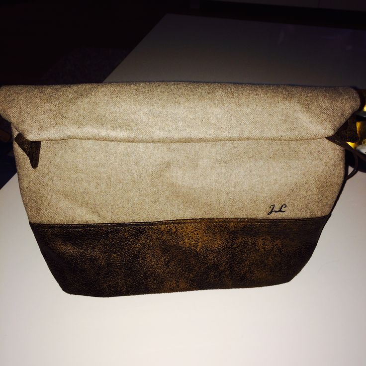 Toiletbag with initials from Etsy