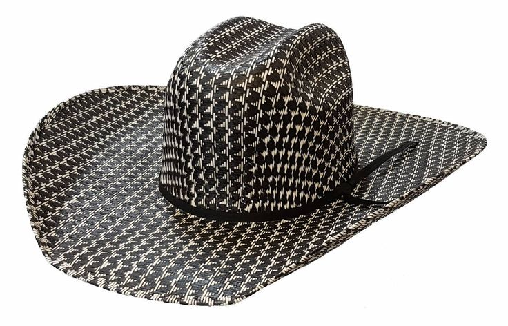 🐎Rio Rodeo King Straw Hat, Midnight