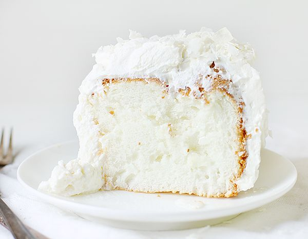 Coconut Angel Food Cake FoodBlogs.com