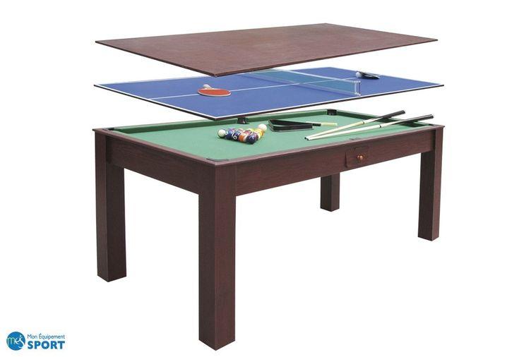 Table à Manger + Billard + Ping Pong