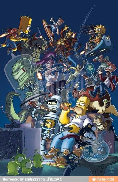 This is possibly one the most amazing things I have ever seen. Of all time. But Futurama is better in my opinion