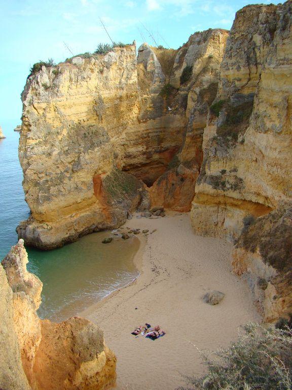 Dona Ana Beach, near Lagos Algarve Portugal