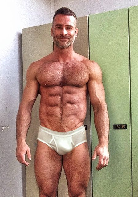 Hot Dad In His Tighty Whities