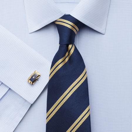Sky twill puppytooth non iron slim fit shirt men 39 s for Mens dress shirts charles tyrwhitt