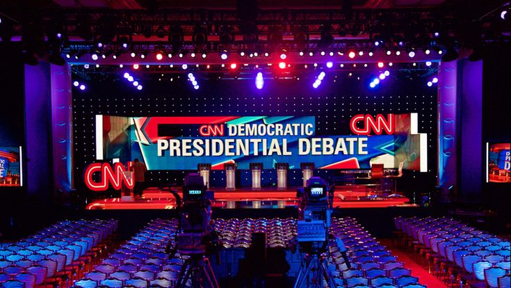 CNN Presidential Debate | NewscastStudio