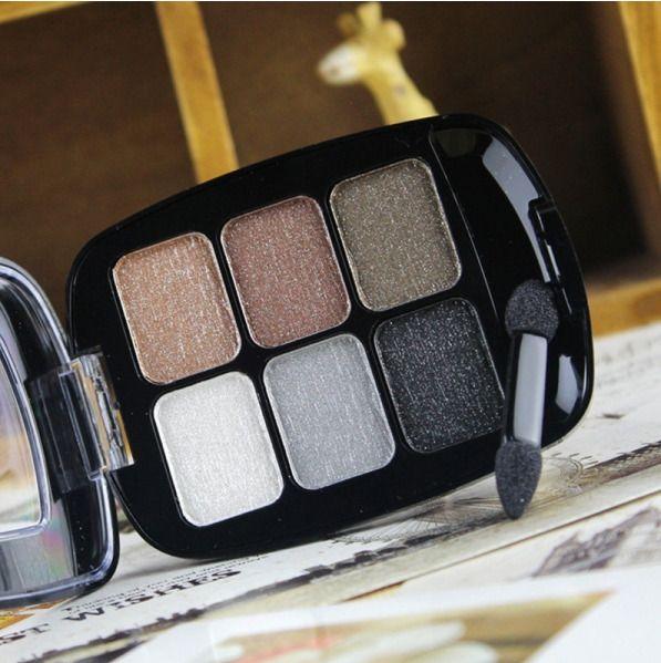 6 Colors LOVE ATTI Makeup Eyeshadow Palette Make Up Eye Shadow Naked Smoky Profe #Eyeshadow