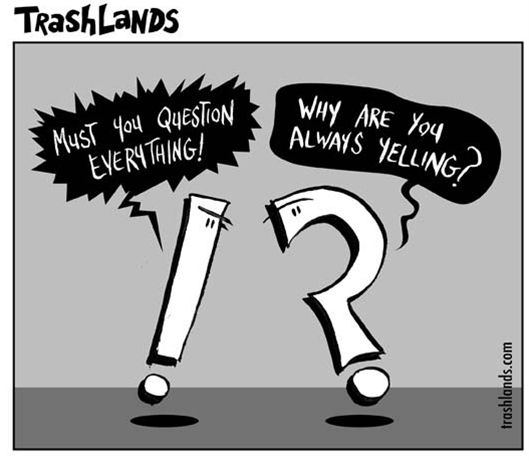 Punctuation humor - Click image to find more Humor Pinterest pins