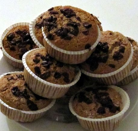 Muffins – 12 styk uden hvede, mælk og æg (Vita Damsø)