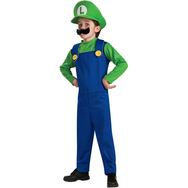 #Disfraz de #Luigi de #SuperMario Bros. #Nintendo #Costume