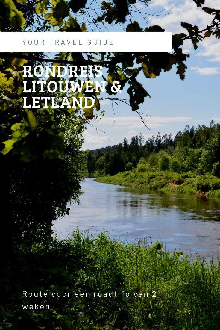 Route Voor Een Roadtrip Door Baltische Staten Litouwen En Letland In 2020 Litouwen Letland Rondreis