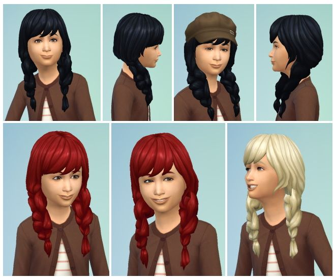 FishtailPics for Girls at Birksches Sims Blog via Sims 4
