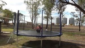 The perfect lifestyle necessity for a rural childhood - a trampoline!!!   www.jumpstar.com.au