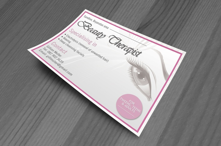 The Beauty Therapist Flyer Design