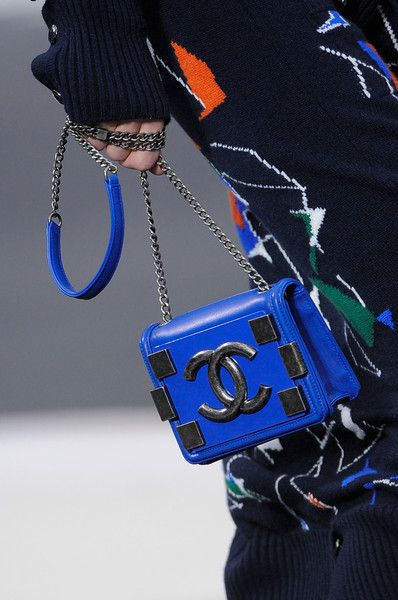 ... Blue Chanel, Fall Bags, Bags 2013, Cobalt Blue, Collection 2013, Fall