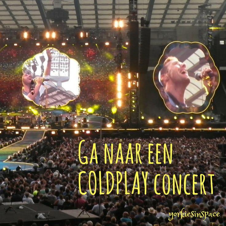 Ik ben een gigantische Coldplayfan. Toen de band met de Mylo Xyloto tour in België kwam, zat ik nog in de middelbare school en had ik examens. Daarom heb ik toen niet voor tickets gekeken, en ik heb...