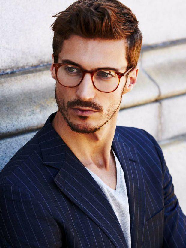 Tendência: Óculos de grau com as lentes grandes.