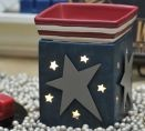 Liberty Scentsy Burner - for my red, white and blue kitchen