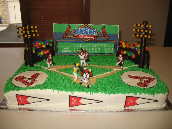106 best Cakes Sports St Louis Cardinals images on Pinterest