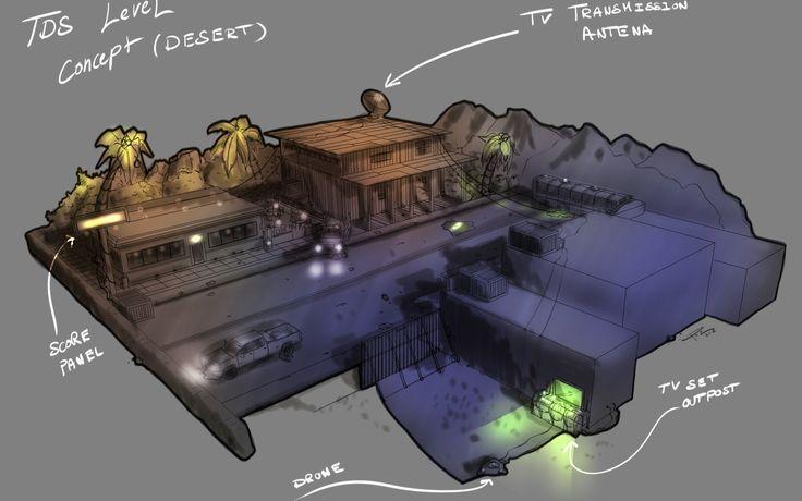 Level design Concept art, Jean Pez on ArtStation at https://www.artstation.com/artwork/6N1OV