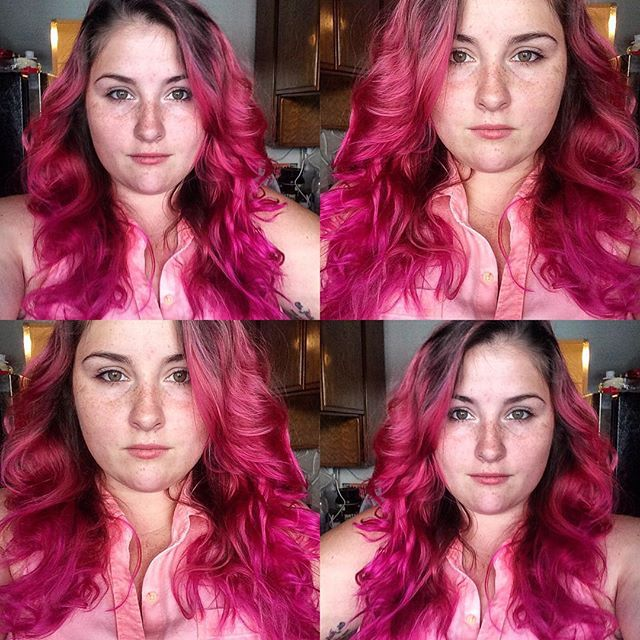 @imnotastate is STUNNING with #CleoRose hair. Damn #grrrl!