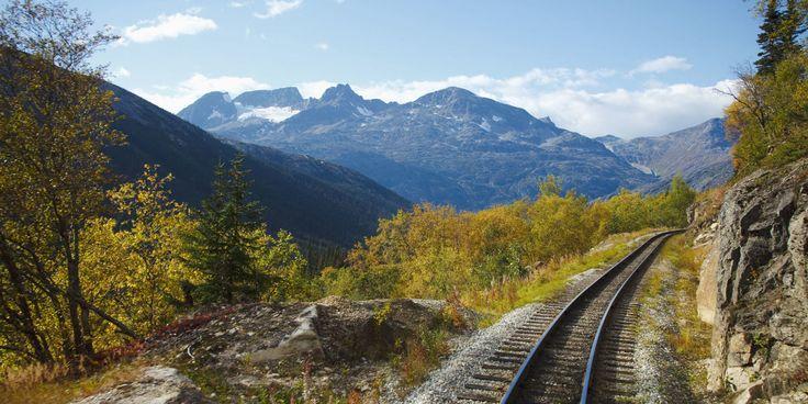 Un viaje en tren por los paisajes más impresionantes de los EE.UU. sólo cuesta 213$