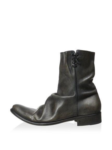 John Varvatos Coal Leather (Jimmy Hendrix) Sharpei Men Boots