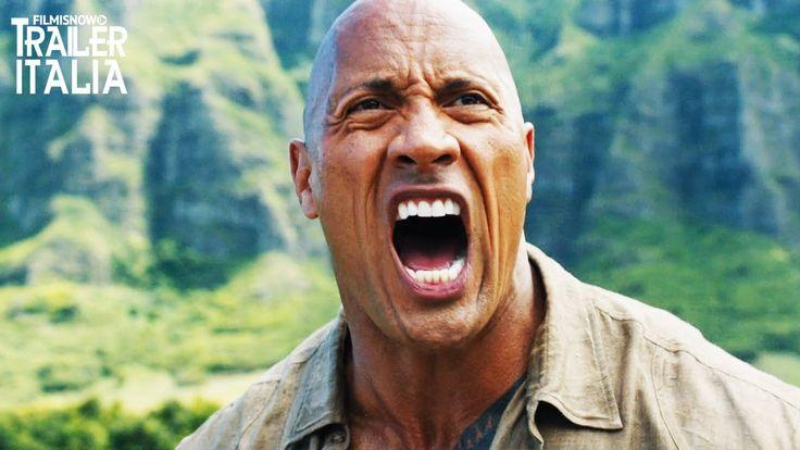 "Trailer Italiano JUMANJI 2: BENVENUTI NELLA GIUNGLA con Dwayne ""The Rock"" Johnson, Karen Gillan, Kevin Hart e Jack Black nel film diretto da Jake Kasdan."
