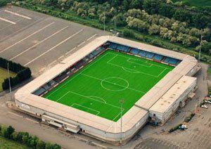 Scunthorpe United FC - Glanford Park - 9.088 tilskurer