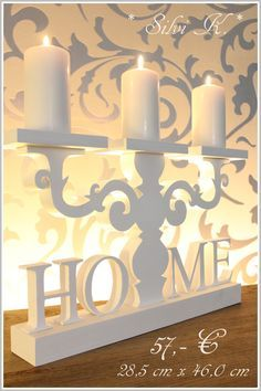 erhältlich hier: http://de.dawanda.com/shop/anavlis , Leuchter aus Holz, HOME, Kerzenhalter, Handarbeit, DaWanda, Silvi K. ,