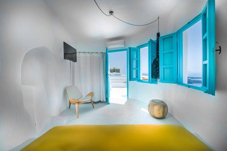 Let the sun come in... Explore: www.sophiasuites-santorini.com  #SophiaSuites #Summer2018 #Santorini #Greece