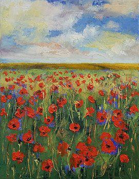 Michael Creese - Poppies