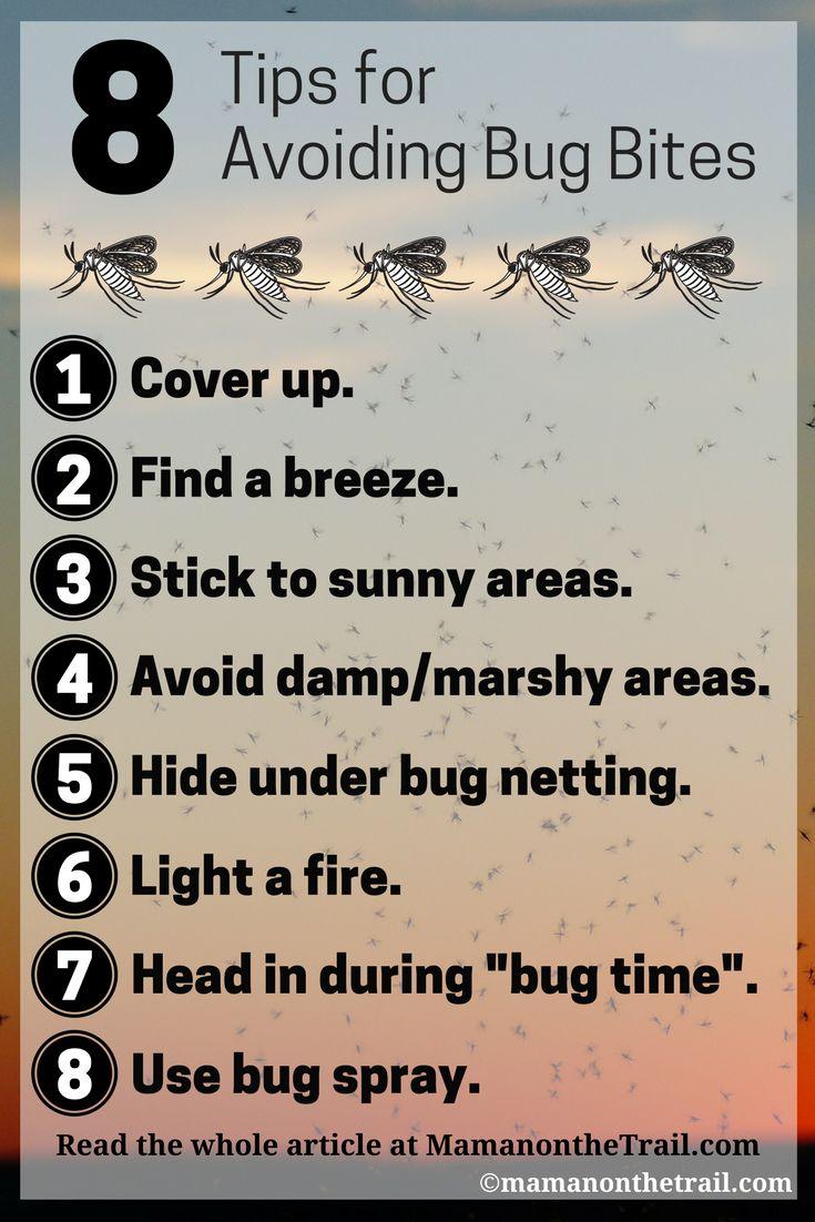 8 Tips for Avoiding Bug Bites - mamanonthetrail.com