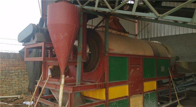zircon sand drying plant