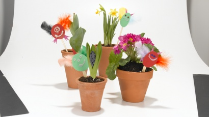 71 best creative kid crafts images on pinterest crafts for kids diy garden gremlins jazz up your greenery with these cute homemade cretins solutioingenieria Gallery