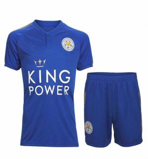 Leicester City FC 2017-18 Season Home Foxes Kit [K240]