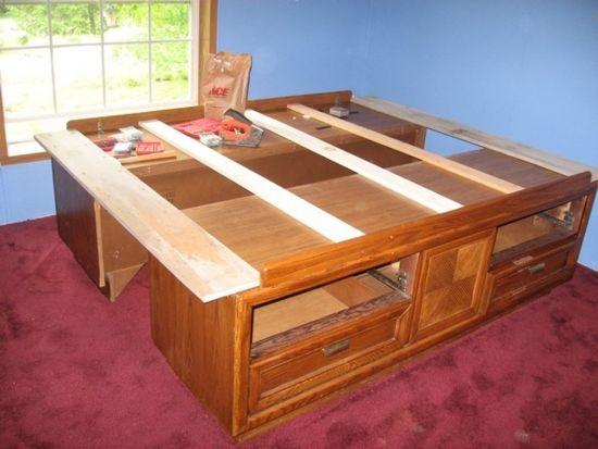 King Sized Captin Bed
