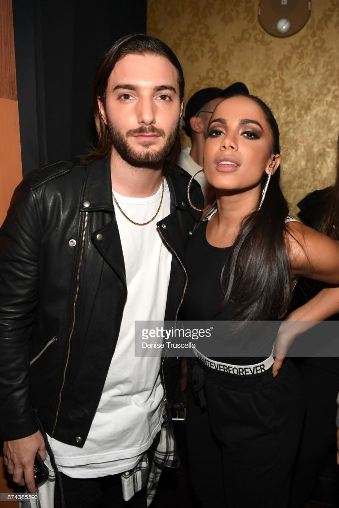 Alesso and Anitta at Spotify Celebrates Latin Music and Their Viva Latino Playlist at Marquee Nightclub on November 14, 2017 in Las Vegas, Nevada.