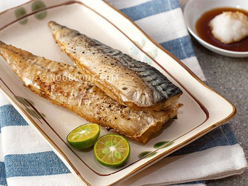 Baked mackerel with salt pepper gpers keep it simple for How to cook mackerel fish