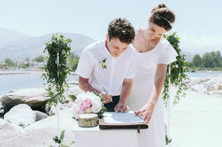 Seaside elopement in Crete | Crete for Love