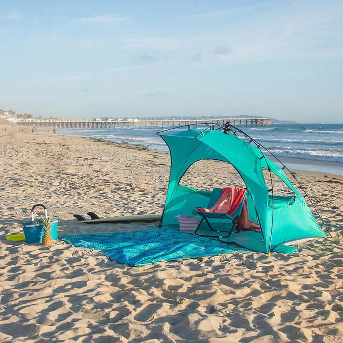 Beach Blanket At Costco: Lightspeed Outdoors Newport Sun Shelter With Detachable