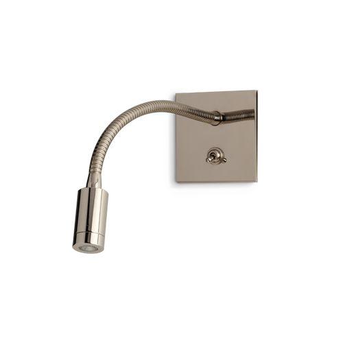 Porta Romana - TWL89, Jordan Wall Light - Nickel