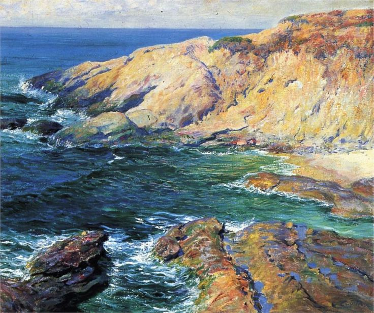 Incoming Tide (1917) - Guy Rose - WikiArt.org