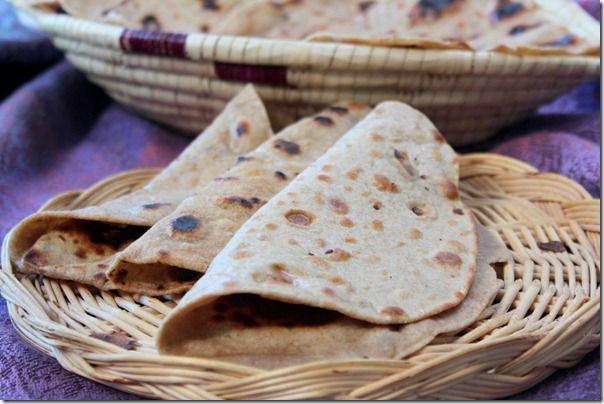 Pain indien - chapati
