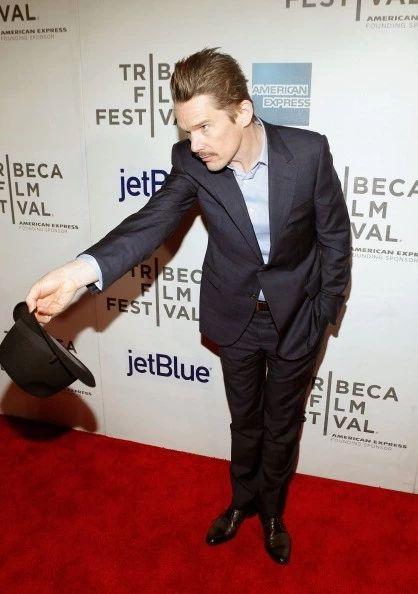 イーサン・ホーク「'Before Midnight' New York Premiere - 2013 Tribeca Film Festival」:写真・画像(14)[壁紙.com]