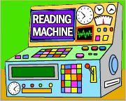 Education World: The Reading Machine Archive: Reading :  links to 36 online games to reinforce important reading skills, and to help your students practice and enhance their skills.