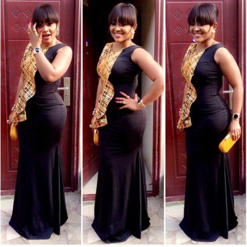 vestidos africanos de color negro - Buscar con Google