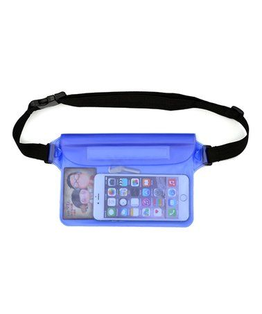 This Blue Waterproof Fanny Pack is perfect! #zulilyfinds