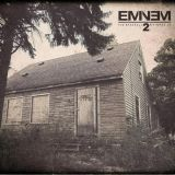 "EMINEM ""THE MARSHALL MATHERS LP 2"" ALBUM Tracklist: 1.  BAD GUY 2.  PARKING LOT (SKIT) 3.  RHYME OR REASON 4.  SO MUCH BETTER 5.  SURVIVAL 6.  LEGACY 7.  ASSHOLE 8.  BERZERK (PROD. BY RICK RUBIN) 9.  RAP GOD 10. BRAINLESS 11. STRONGER THAN I WAS 12. THE MONSTER 13. SO FAR 14. LOVE GAME 15. HEADLIGHTS 16. EVIL TWIN 17. BABY 18. DESPERATION 19. GROUNDHOG DAY 20. BEAUTIFUL PAIN 21. WICKED WAYS 22. DON'T FRONT (SNIPPET)  Eminem's eighth studio album, released on November 5, 2013 via Aftermath…"