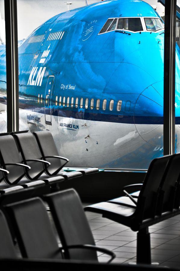 KLM Boeing 747-400, un gigante de la aviacion y aeronave icono de la historia se prepara para iniciar un nuevo viaje.