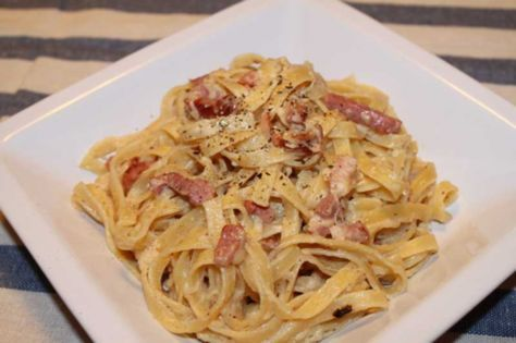 Syn Free Carbonara — Slimming World Survival | Recipes | Tips | Syns | Extra Easy